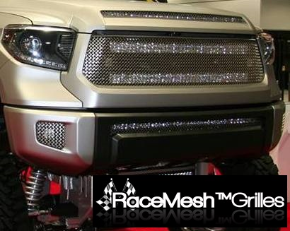 TOYOTA Tundra (2014-2016) Upper Grilles - Original Crimp Style Weave