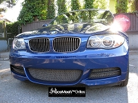 BMW E82 E88 135i 3-Piece Lower Valance - Includes Brake Duct Housings