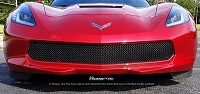 CHEVY C7 Stingray Z06 Grand Sport One-Chamber Lower Valance - Gothic Style weave