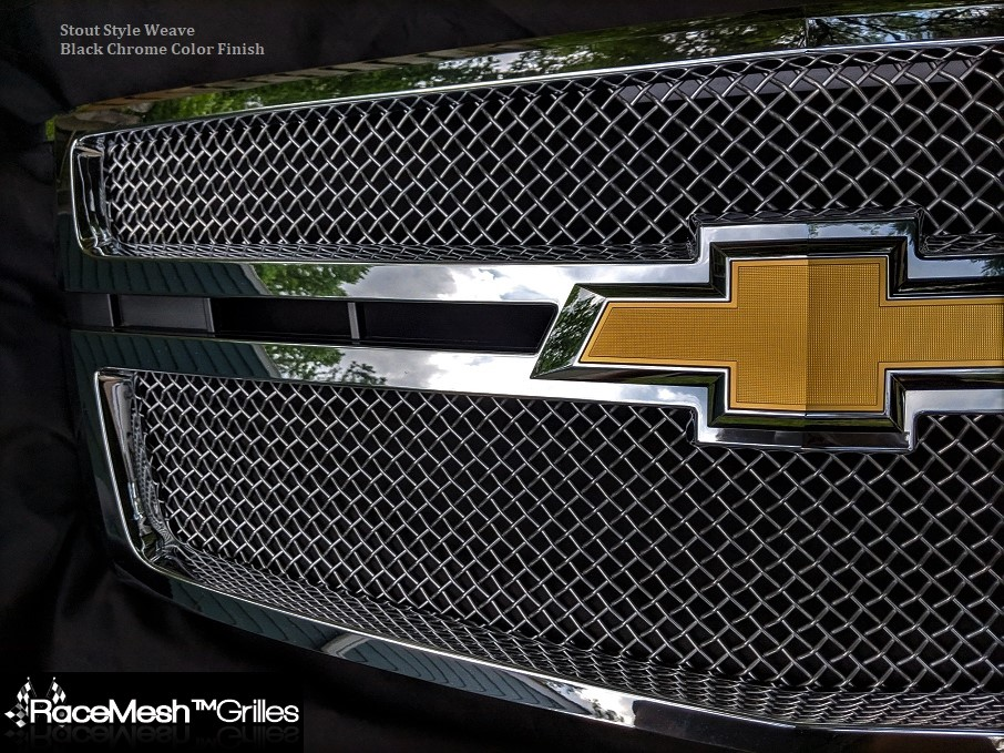 CHEVY Tahoe/Suburban Upper Grille  (2015- )  STOUT Style weave