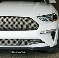 Ford Mustang S550 ( 2018 - 2020) Upper ONE-Chamber and Lower RaceMesh Grilles SET