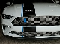 Ford Mustang S550 ( 2018 - 2020 ) Upper and Lower 3-Chamber RaceMesh Grilles SET