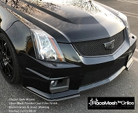 Cadillac CTS-V (2009-2015) Upper Grille & Lower Valance Grille - Glacier Style Weave