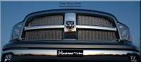 DODGE Ram 1500 (2009-2012) Upper Grille - GOTHIC Style