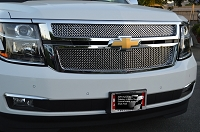 CHEVY Tahoe/Suburban Upper Grille  (2015- )  GOTHIC Style weave