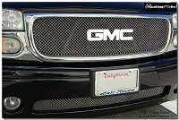 GMC Yukon Denali (2001-2006) Upper & Lower Grilles Set