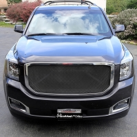 GMC Yukon / Denali / XL / SLE / SLT (2015 -  ) Upper Main Grille  Original Crimp Style Weave