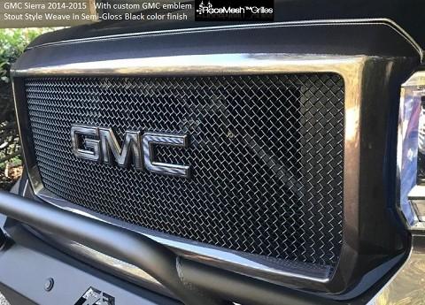 Gmc Sierra 2014 2015 Upper Main Grille