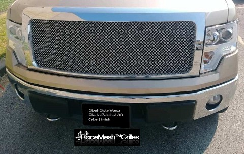 FORD F-150 (2009-2014) Upper Grille - STOUT Style