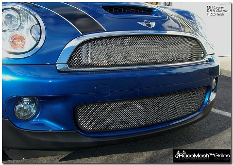Mini Cooper S Lower Valance Grille - R55 S & JCW Clubman, R56 S & JCW Coupe, R57 S & JCW Vert
