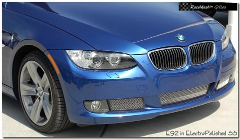 BMW E92 3-Series Lower Valance 3-piece