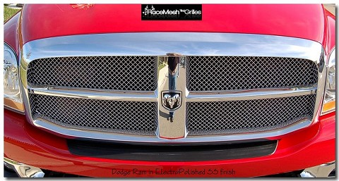 DODGE Ram 2500 (2009-2012) Upper Grille - GOTHIC Style Weave
