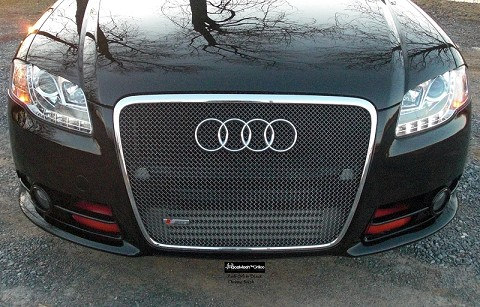 AUDI S4 (B7)  (2005-2007) Main Grille   GOTHIC Style Weave