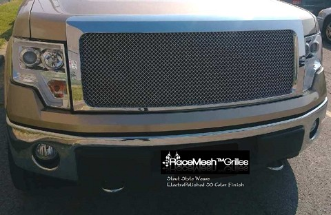 FORD F-150 (2006-2008) Upper Grille & Lower Valance set - STOUT Style weave