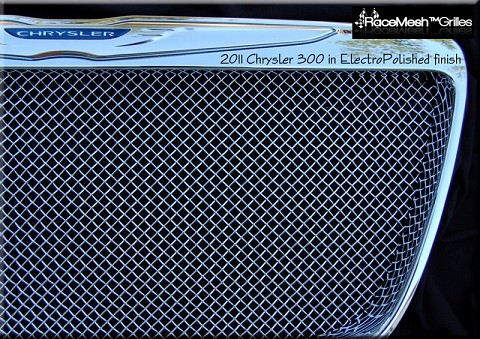 Chrysler 300 (2011-2014) Upper Grille - Original Crimp style weave