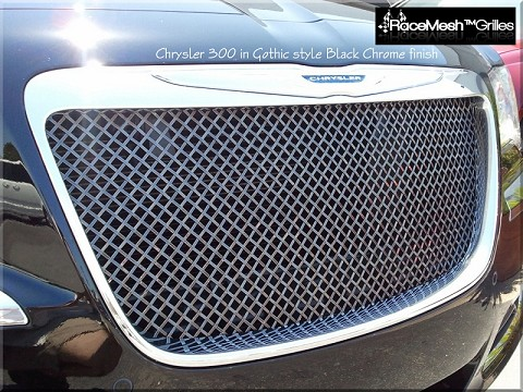 Chrysler 300 (2011-2014) Upper Grille - GOTHIC style weave