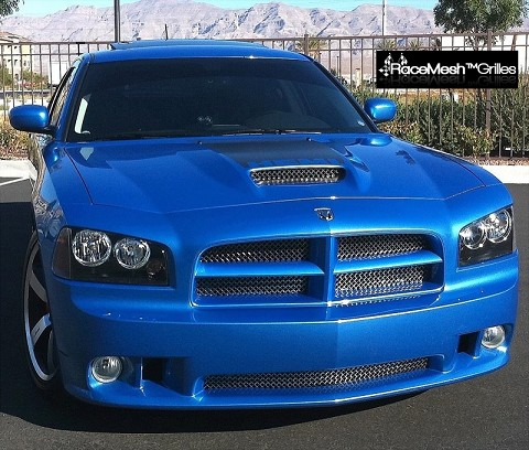 DODGE Charger (2006-2010) Main Upper Grille - GOTHIC Style