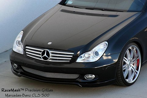 Mercedes-Benz (W219) CLS500 CLS550 (2006 - 2009) Lower Valance (Gothic Style weave)