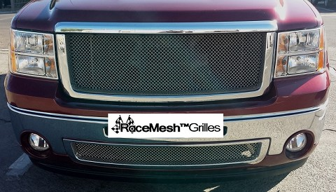 GMC Sierra / Denali (2007-2013) Lower Grille  Original Crimp Style weave