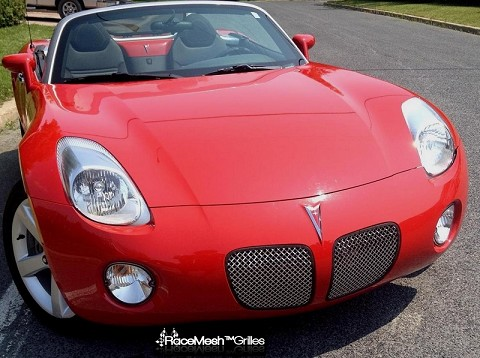 Pontiac Solstice Kidney Grilles - GOTHIC Style weave